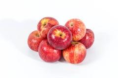 Grupo de manzanas rojas Foto de archivo libre de regalías