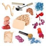 Grupo de maquillaje Imagen de archivo libre de regalías
