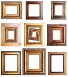 Grupo de marcos fotos de archivo