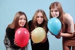 Grupo de meninas bonitas no partido Imagem de Stock Royalty Free