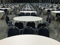 Grupo de mesa redonda/teste padrão da mesa redonda Fotografia de Stock
