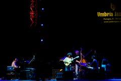 Grupo de Metheny da pancadinha no festival de jazz de Úmbria Fotos de Stock