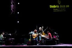 Grupo de Metheny da pancadinha no festival de jazz de Úmbria Foto de Stock