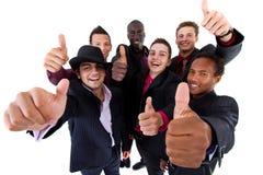 Grupo de moda de hombres de negocios sucessful Foto de archivo