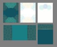 Grupo de moldes no árabe Imagem de Stock