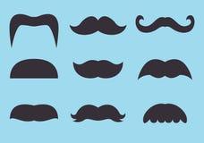Moustache ilustração stock