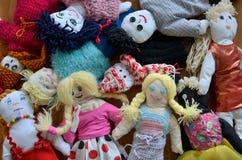 Grupo de muñecas foto de archivo