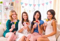 Grupo de muchachas foto de archivo libre de regalías