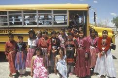 Grupo de muchachas del nativo americano Fotos de archivo libres de regalías