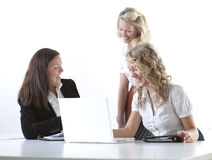 Grupo de mulheres de negócio fotografia de stock