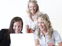 Grupo de mulheres de negócio imagem de stock