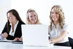 Grupo de mulheres de negócio fotos de stock