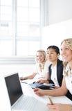 Grupo de mulheres de negócio foto de stock royalty free