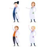 Grupo de mulheres do cientista Foto de Stock