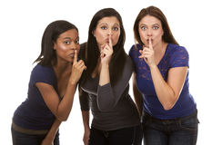 Grupo de mulheres ocasionais Fotografia de Stock