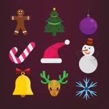 Grupo de Natal Imagens de Stock