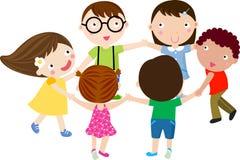 Grupo de niños Imagen de archivo libre de regalías