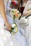 Grupo de novias Foto de archivo libre de regalías