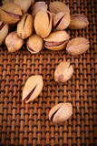 Grupo de nueces de pistacho Foto de archivo libre de regalías