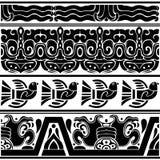 Grupo de ornamento americanos antigos Imagens de Stock