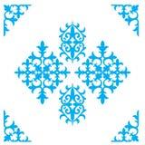 Grupo de ornamento e de testes padrões nacionais do Cazaque Fotos de Stock Royalty Free