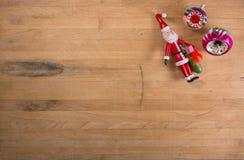 Grupo de ornamentos de la Navidad Imagenes de archivo