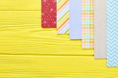 Grupo de papel modelado para ornamento do Natal Foto de Stock