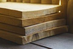 Grupo de partes de madeira da telha imagens de stock royalty free