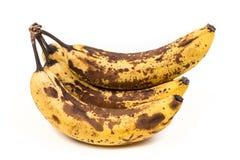 Grupo de passados bananas Fotografia de Stock Royalty Free