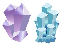 Grupo de pedras preciosas Imagem de Stock Royalty Free