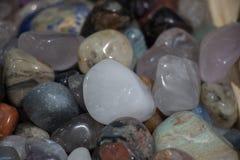 Grupo de pedras preciosas minerais naturais Imagem de Stock Royalty Free