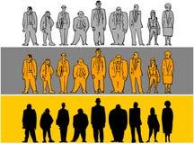 Grupo de personas ilustración del vector