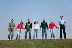 Grupo de personas foto de archivo libre de regalías