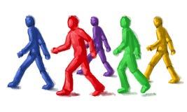 Grupo de personas libre illustration
