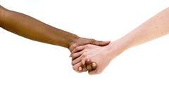 Grupo de personas de Divese que agujerea las manos multicultural imagen de archivo libre de regalías