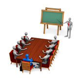 Grupo de personas en la reunión Foto de archivo