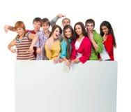 Grupo de personas joven Fotos de archivo libres de regalías