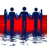 Grupo de pessoas ilustração do vetor
