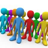 Grupo de pessoas Foto de Stock