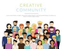 Grupo de pessoas Imagem de Stock Royalty Free