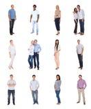 Grupo de pessoas diverso Foto de Stock Royalty Free