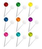 Grupo de pinos coloridos Fotos de Stock
