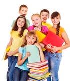 Grupo de povos adolescentes. Imagens de Stock Royalty Free