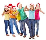 Grupo de povos adolescentes. Foto de Stock