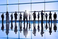 Grupo de povos de mundo empresarial multi-étnicos imagens de stock royalty free