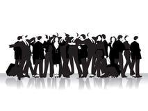 Grupo de povos de negócio Fotografia de Stock