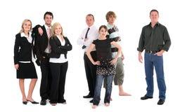 Grupo de povos diferentes Imagem de Stock Royalty Free