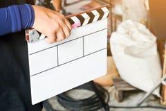grupo de produção do filme Imagens de Stock Royalty Free