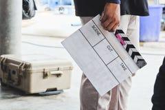 grupo de produção do filme Imagens de Stock