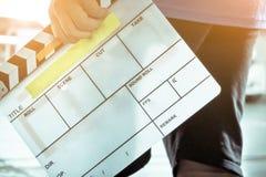 grupo de produção do filme Fotografia de Stock